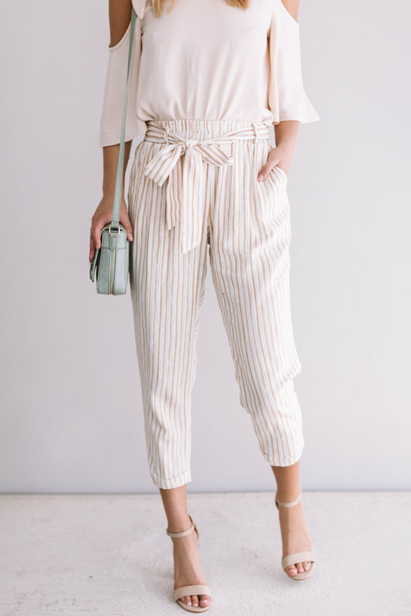 Easy To Impress Stripe Pants