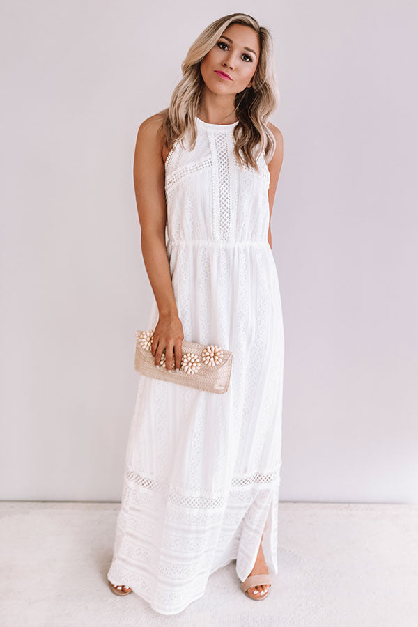 Catch Me In Catalina Lace Maxi
