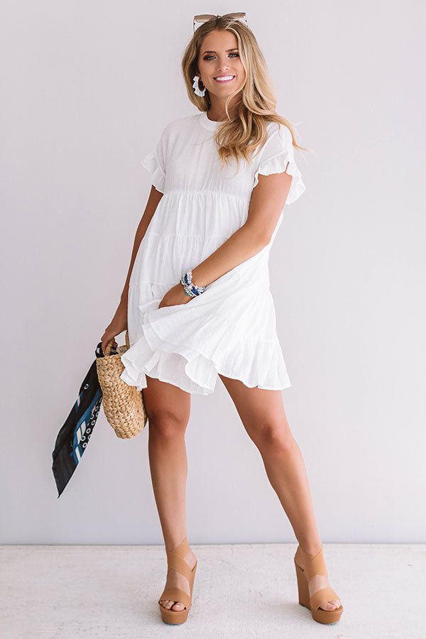 c736568df57 Love Potion Babydoll Dress In White • Impressions Online Boutique