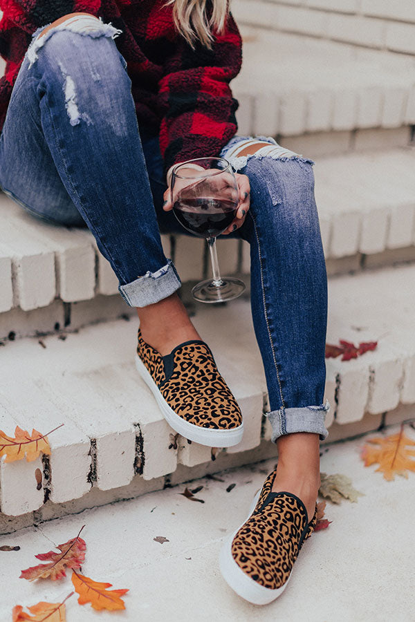 The Carley Slip On In Cheetah