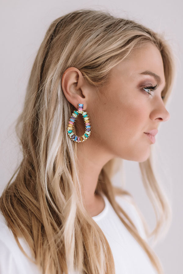 Dazzled and Amazed Earrings in Multi