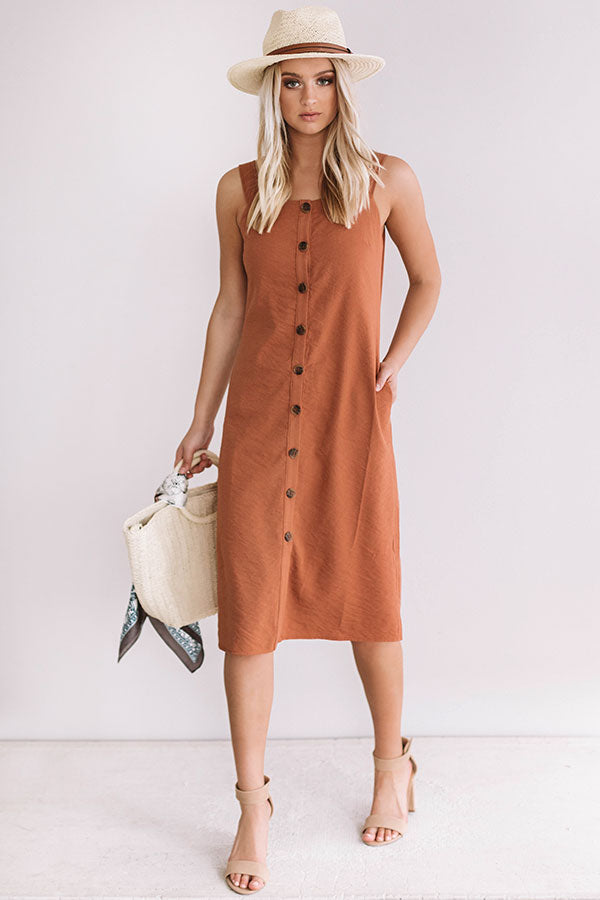 Sweetest Devotion Button Down Dress