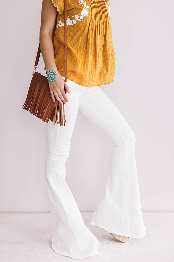 The Caiti High Waist Flares