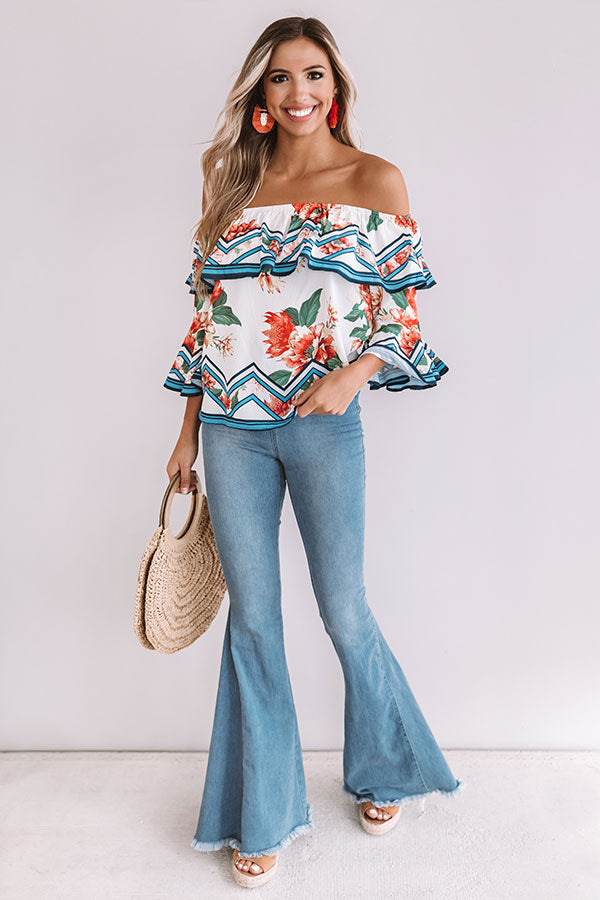Better In Paradise Floral Top