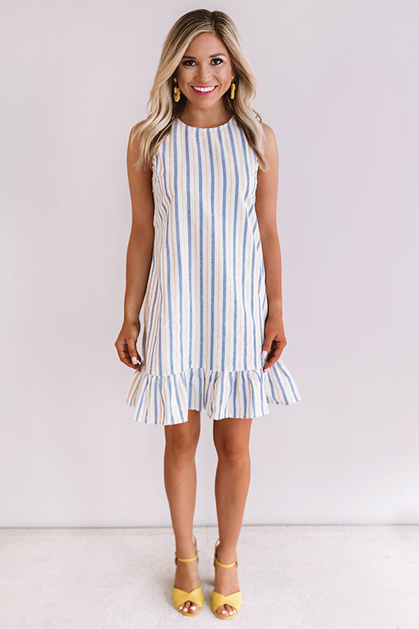 Effortless Love Stripe Shift Dress