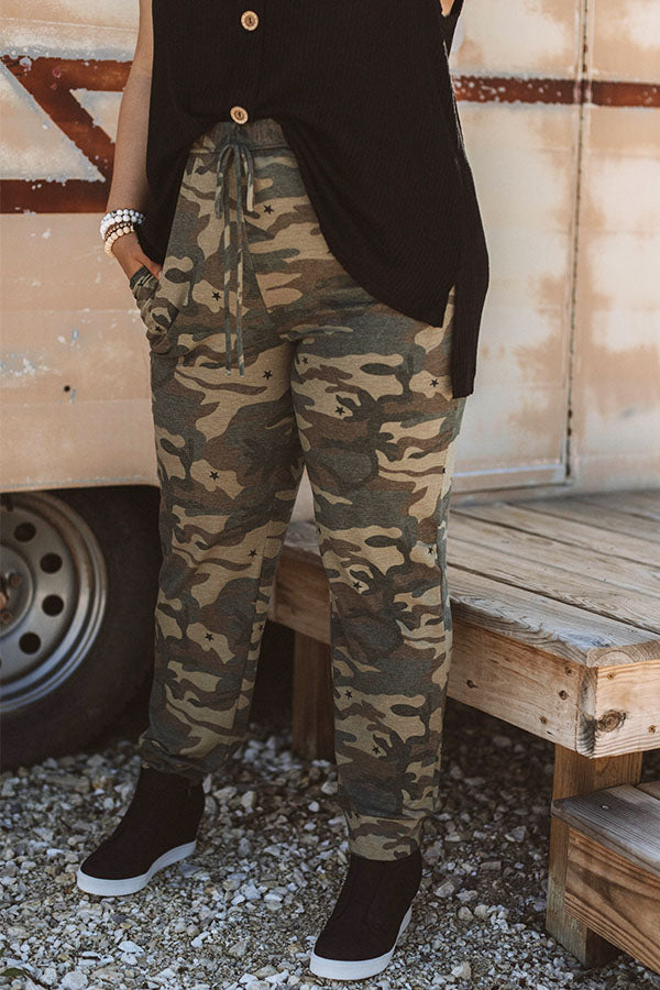 Under The Stars Camo Joggers