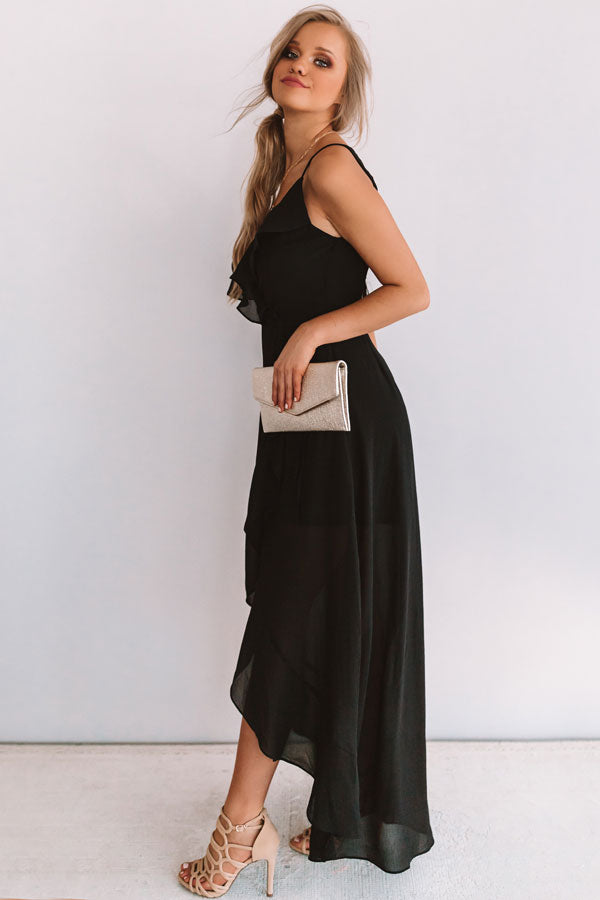 Dreams Of You And Me Ruffle Maxi
