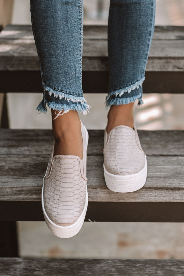 The Karter Faux Suede Sneaker In Birch