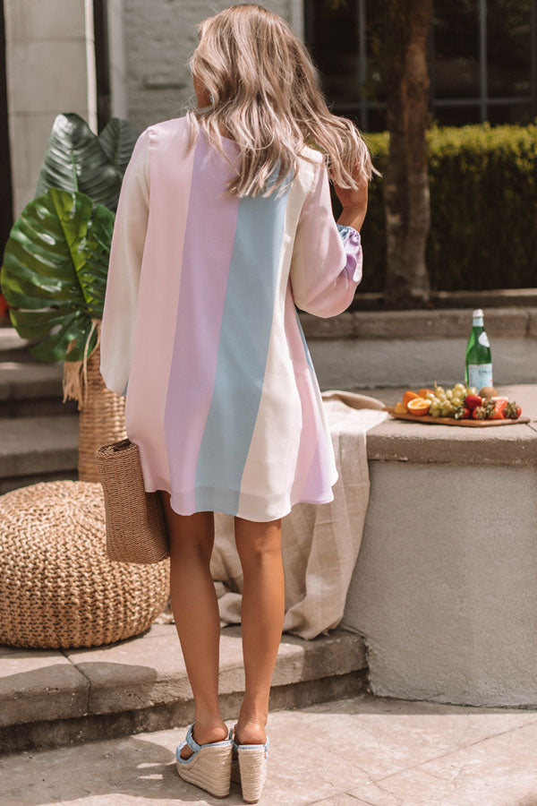 Tour Of Tuscany Stripe Tunic Dress