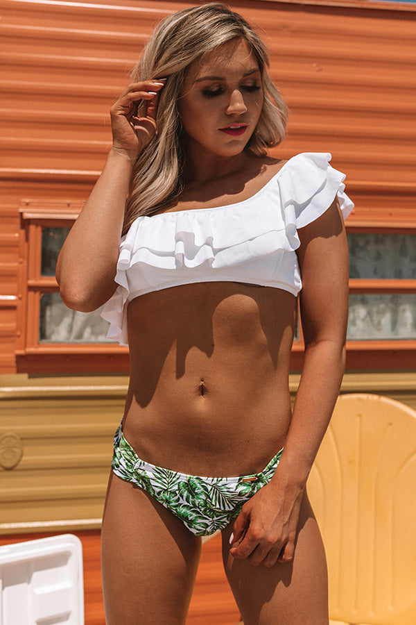 Oceanfront and Fabulous Bikini Bottom in Green