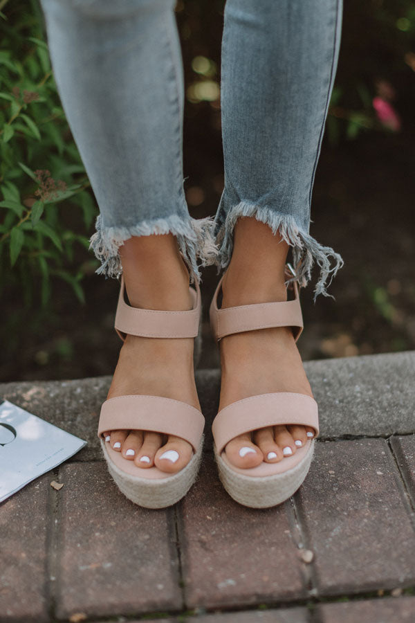 The Marlow Espadrille In Iced Latte
