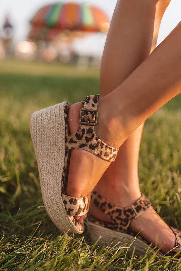 The Marlow Espadrille In Leopard