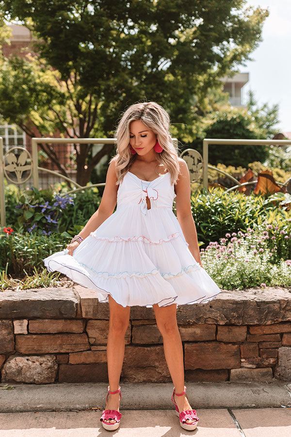 Tahiti Twist Babydoll Dress