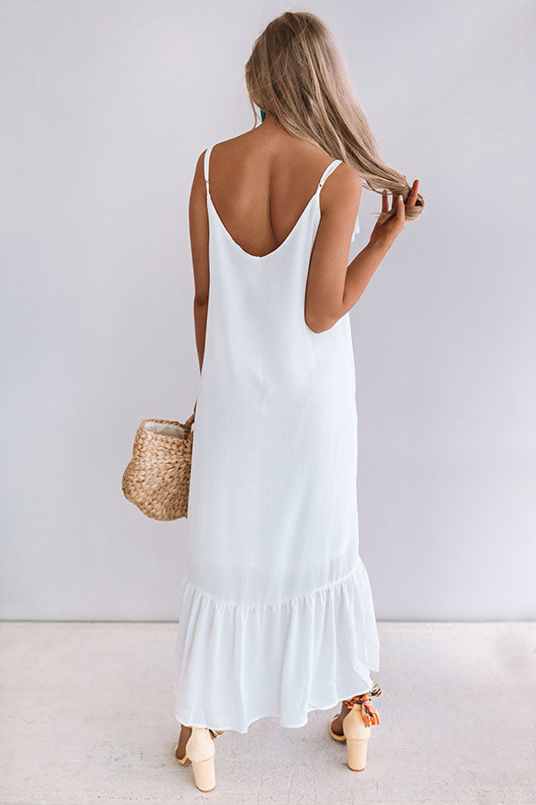 Your'e My Sweetheart Midi In White
