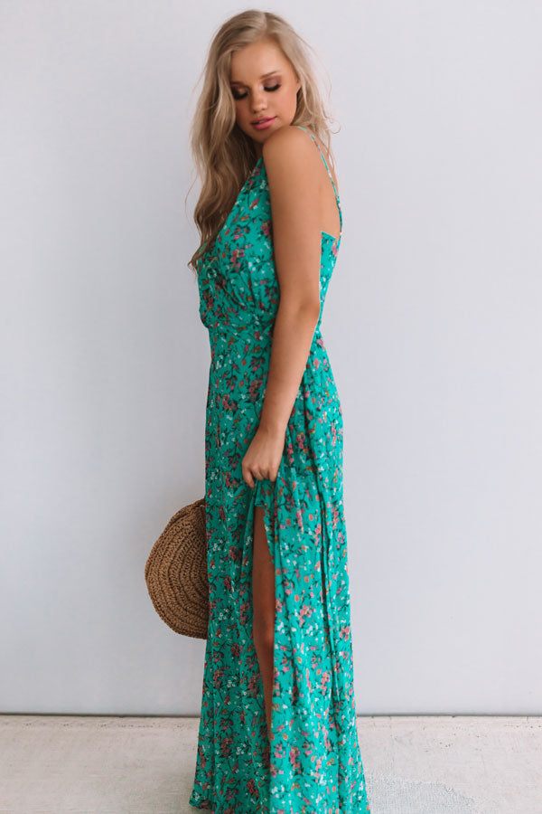 Your Embrace Floral Wrap Maxi