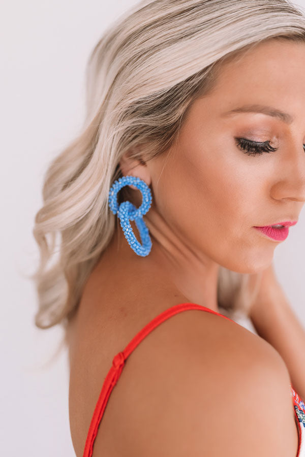 Maui Magic Earrings In Airy Blue