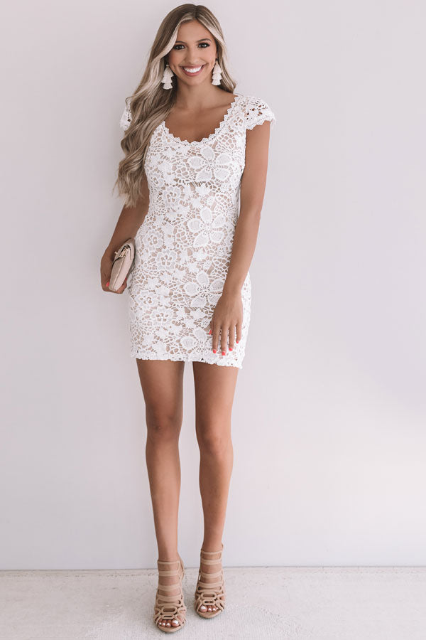 Florence Views Crochet Dress