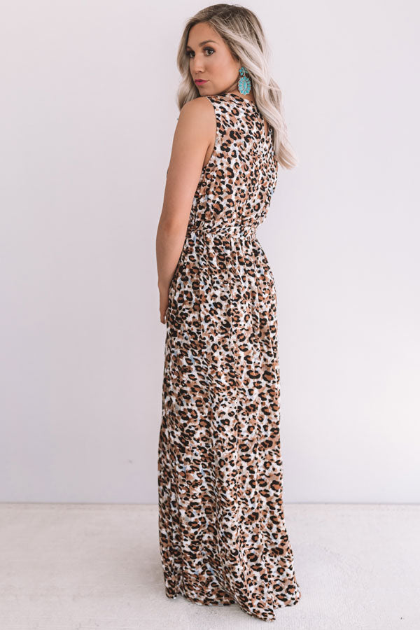 Printed In Paradise Leopard Maxi