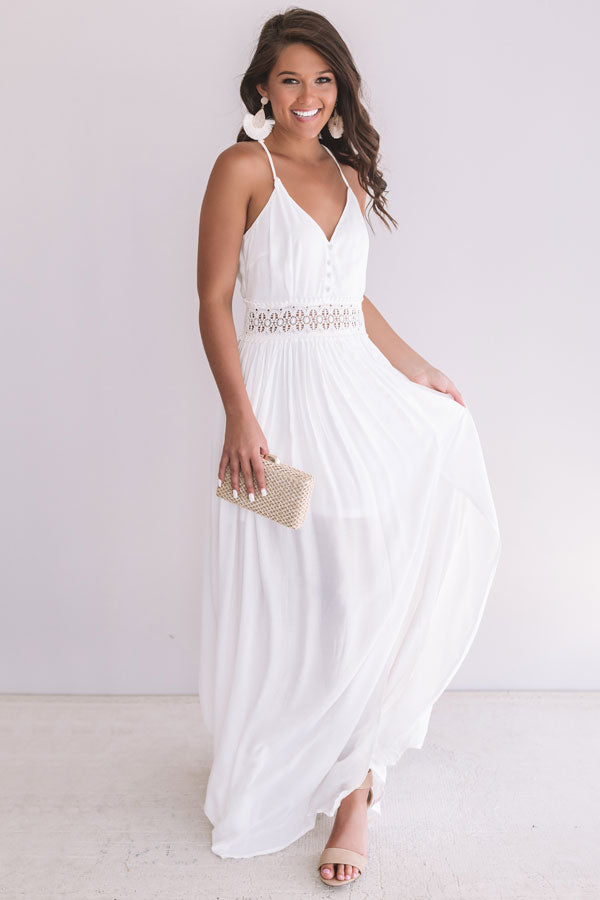 Bella Beautiful Crochet Maxi