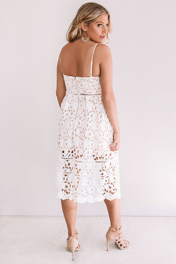 Sweet Surprise Crochet Midi