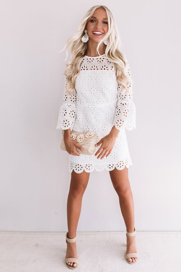 Kisses In Crochet Dress