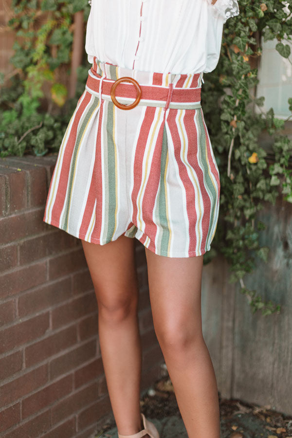 Orange County Crush High Waist Shorts