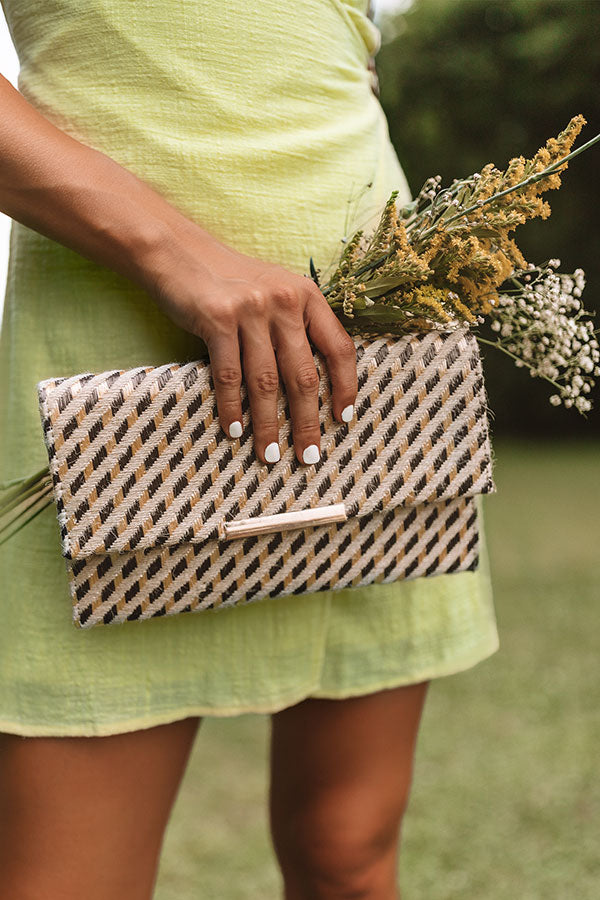 Casual Elegance Clutch In Royal Plum