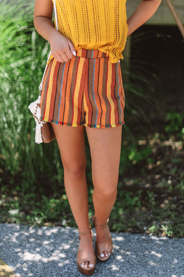 Standing Ovation High Waist Shorts