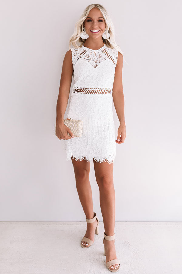 Love Story Lace Dress