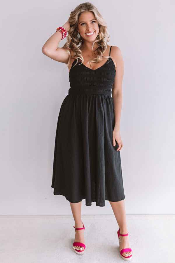 Afternoon In England Midi In Black