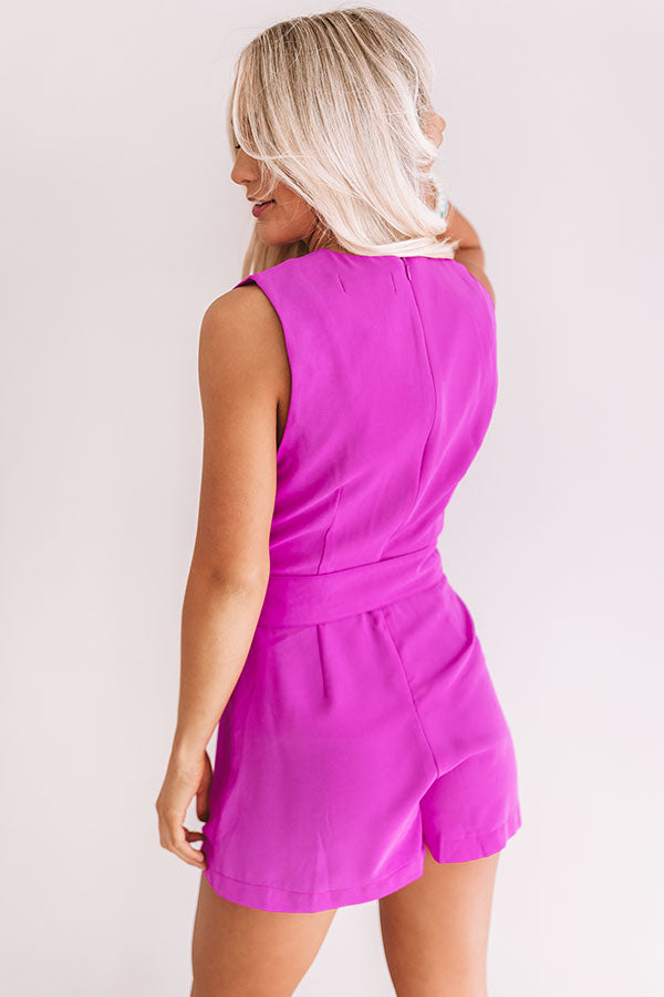 Forever Fashionably Late Romper