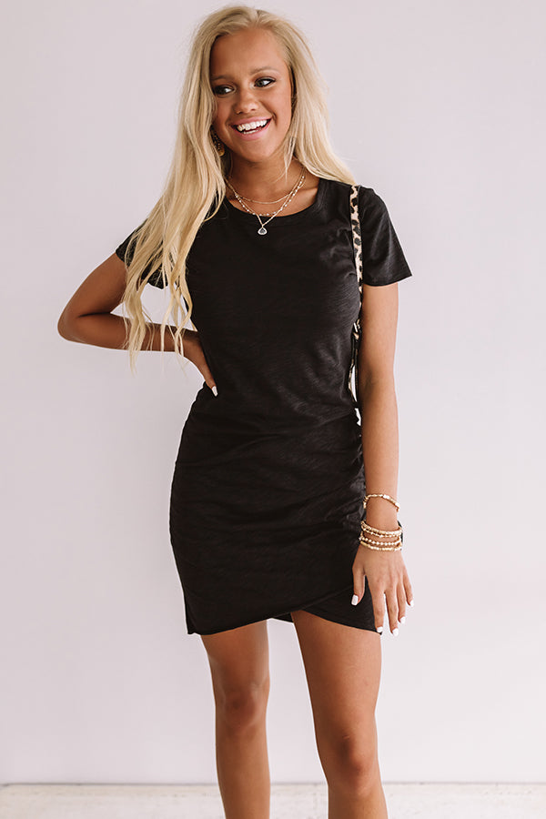Coveted Chic Dress In Black