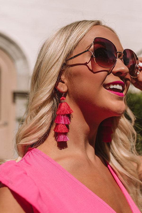 Stay Stunning Tassel Earrings