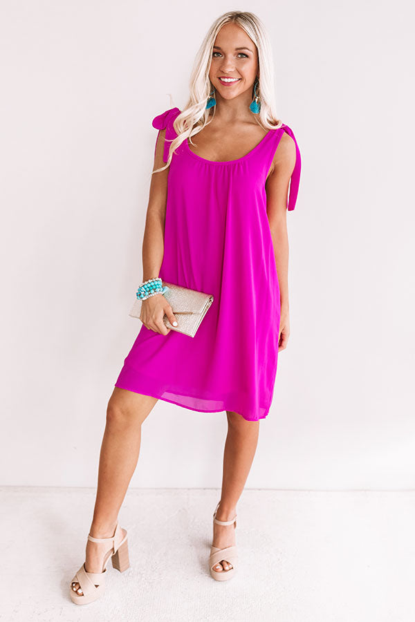 Candy Coated Shift Dress