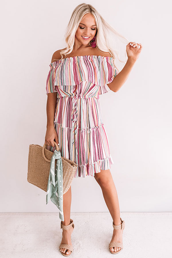 Adore You More Stripe Dress