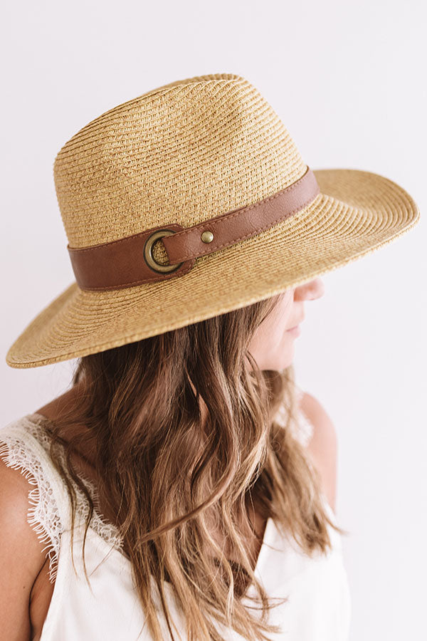 Fade The Sun Hat In Tan