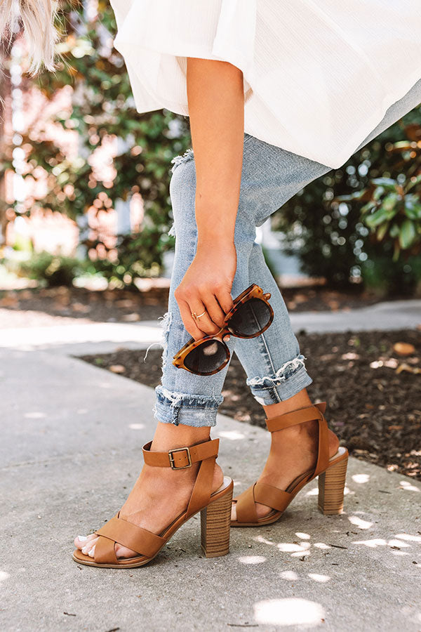 The Celeste Heel In Brown