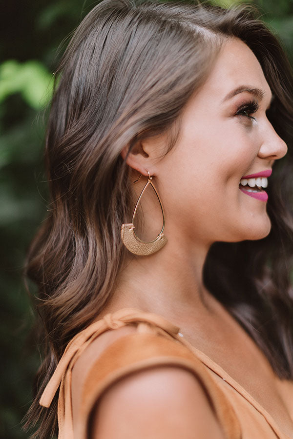 Adventure To Tulum Earrings In Gold