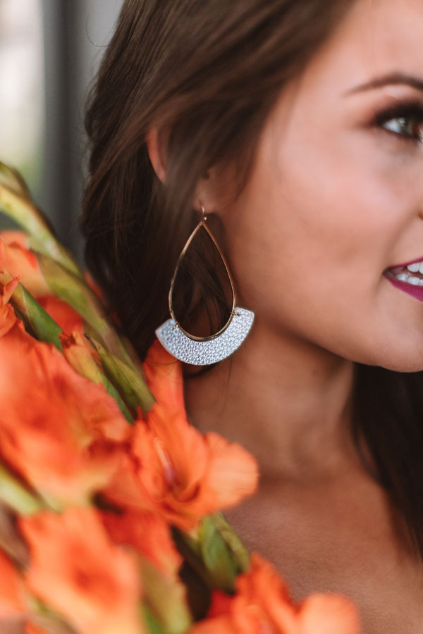 Adventure To Tulum Earrings In Silver