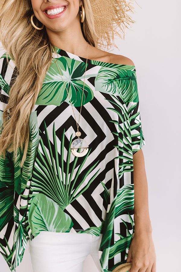 Say It Ain't Soho In Palm Print