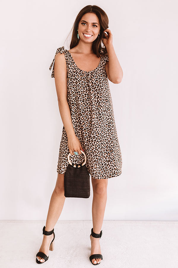 Styled For Fashion Week Leopard Dress
