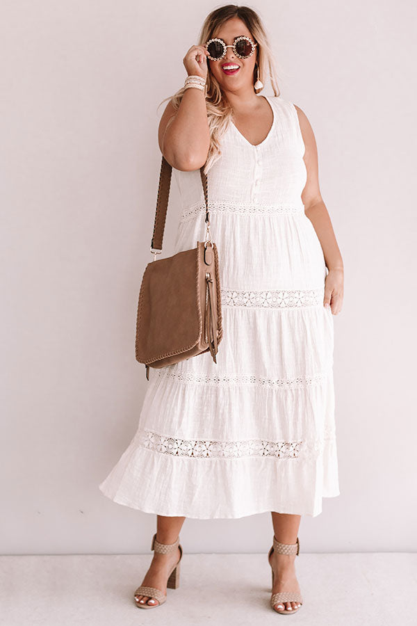 Styled So Pretty Crochet Midi In Cream