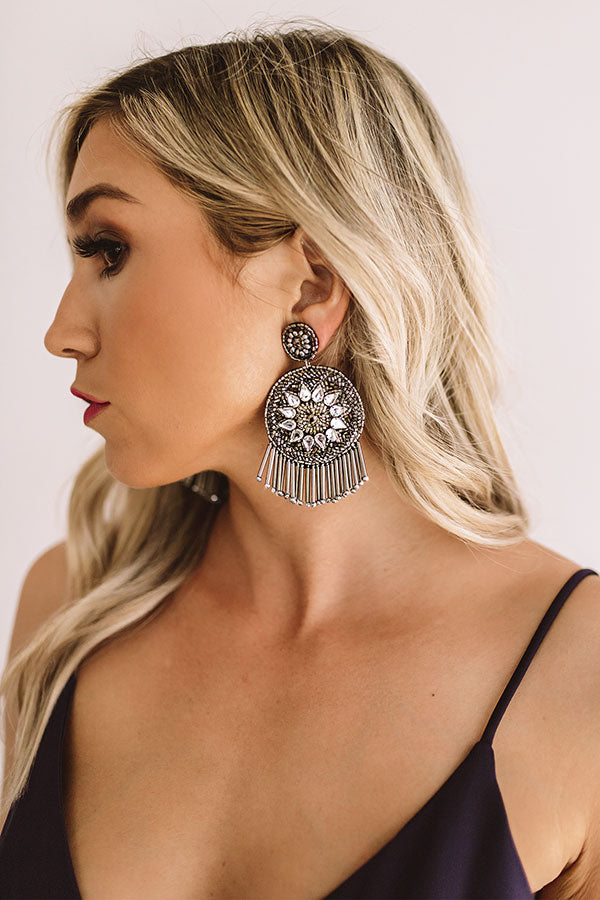 Officially Obsessed Earrings In Silver