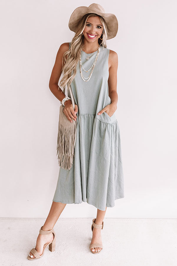 Total Trendsetter Maxi In Airy Blue