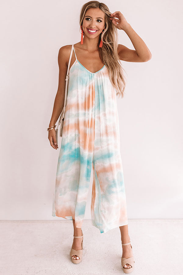 Beachy Travels Tie Dye Jumpsuit