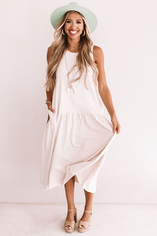 Total Trendsetter Maxi In Cream