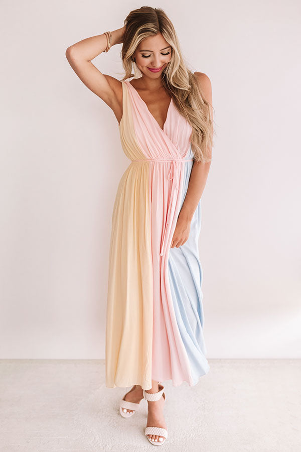 Waves Of Wonderful Stripe Maxi