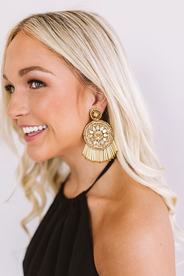 Officially Obsessed Earrings In Gold