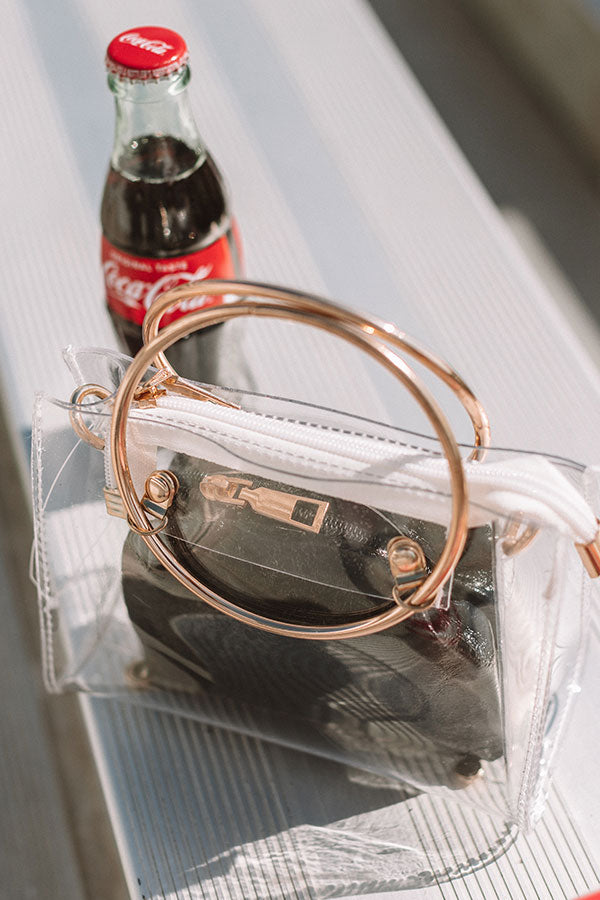Game Day Glam Transparent Bag
