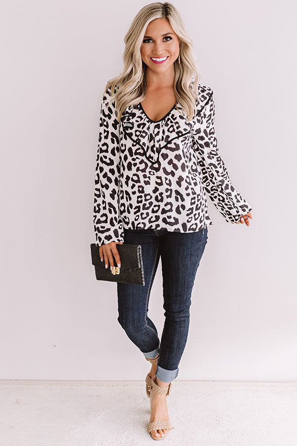 Rock The Runway Leopard Top